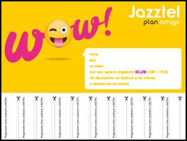Plan amigo de jazztel descuentos por tu recomendaci n for Oficina jazztel